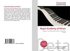 Bookcover of Royal Academy of Music