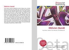 Portada del libro de Oblivion (band)
