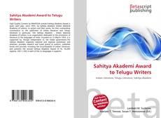 Borítókép a  Sahitya Akademi Award to Telugu Writers - hoz