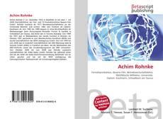 Bookcover of Achim Rohnke
