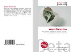 Bookcover of Wage Dispersion