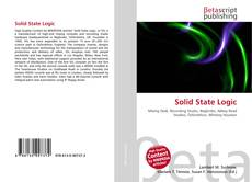 Bookcover of Solid State Logic