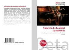 Bookcover of Solomon Ex-Lambert Stradivarius