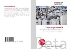 Bookcover of Thermogenerator