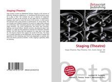 Portada del libro de Staging (Theatre)