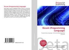 Occam (Programming Language) kitap kapağı