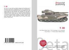 Bookcover of T- 80