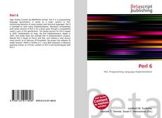 Bookcover of Perl 6