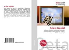 Bookcover of Achim Wendel