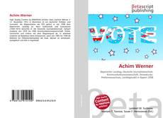 Achim Werner的封面