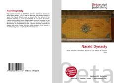 Nasrid Dynasty kitap kapağı