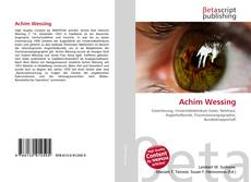 Bookcover of Achim Wessing