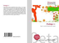 Bookcover of Prolog++