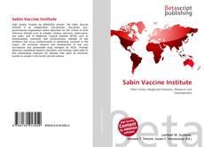 Sabin Vaccine Institute的封面