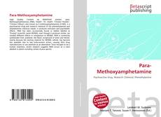 Capa do livro de Para-Methoxyamphetamine