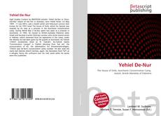 Bookcover of Yehiel De-Nur