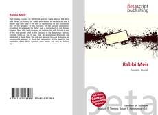 Bookcover of Rabbi Meir