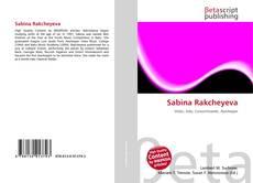 Copertina di Sabina Rakcheyeva