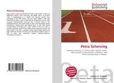 Buchcover von Petra Schersing