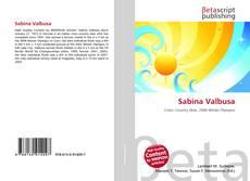 Copertina di Sabina Valbusa