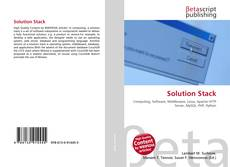 Bookcover of Solution Stack