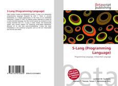Capa do livro de S-Lang (Programming Language)