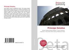 Copertina di Princeps Senatus