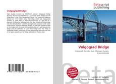 Bookcover of Volgograd Bridge