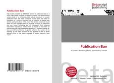 Publication Ban kitap kapağı