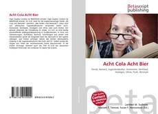 Bookcover of Acht Cola Acht Bier
