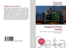 Bookcover of Volgograd Tractor Factory
