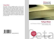 Buchcover von Yahya Khan