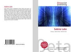 Bookcover of Sabine Lake