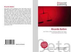 Couverture de Ricardo Balbín