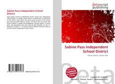 Bookcover of Sabine Pass Independent School District