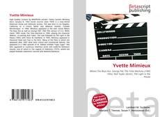 Yvette Mimieux kitap kapağı