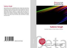 Bookcover of Sabine Singh