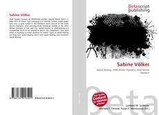 Bookcover of Sabine Völker
