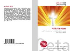 Bookcover of Achisch (Gat)