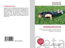 Bookcover of Achillessehnenriss