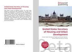 Borítókép a  United States Secretary of Housing and Urban Development - hoz
