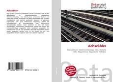 Bookcover of Achszähler