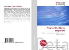 Couverture de Year of the Three Emperors
