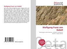 Borítókép a  Wolfgang Franz von Kobell - hoz
