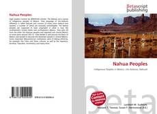 Bookcover of Nahua Peoples