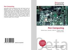 Bookcover of Pen Computing