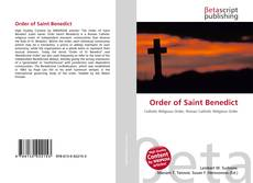 Bookcover of Order of Saint Benedict