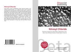 Portada del libro de Nitrosyl Chloride