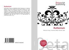 Bookcover of Ruthenium