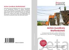 Capa do livro de Achim (Landkreis Wolfenbüttel)